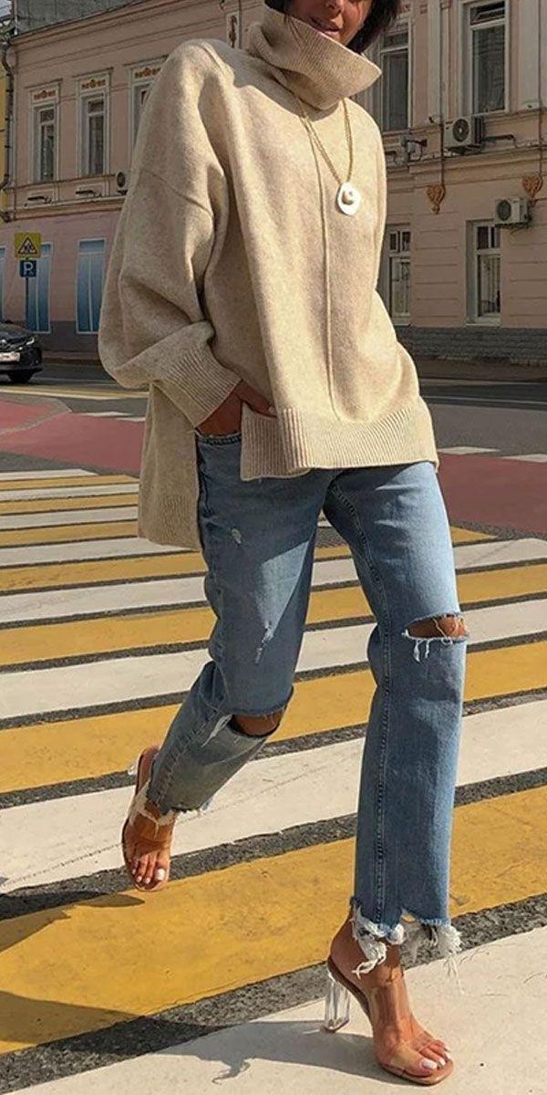 Sweater Tops #latestfashionforwomen