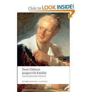 Jacques The Fatalist Denis Diderot David Coward Literary Technique Books Paperbacks