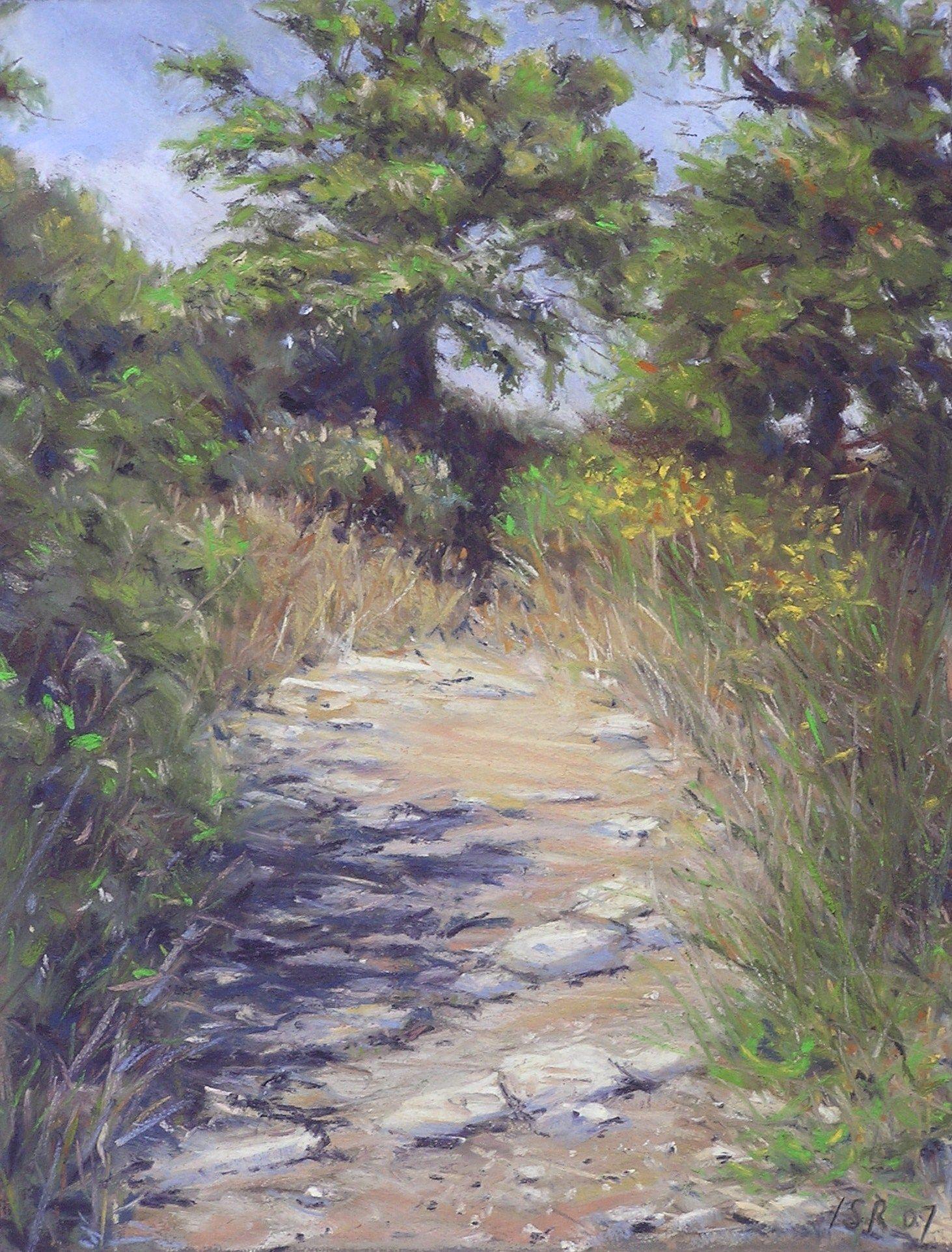 Italian Path - pastel - Ingrid Smith Rijneveld