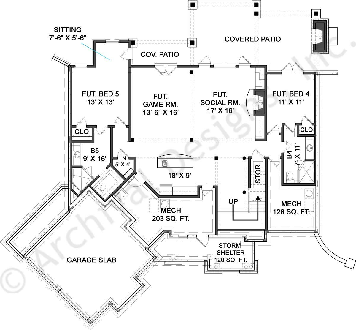 Nantahala bungalow small cottage design ranch house for Colorado style house plans