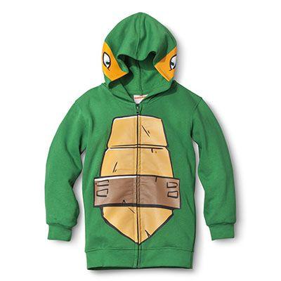 Target Back-to-school item : Teenage Mutant Ninja Turtles Hoodie, $19.99