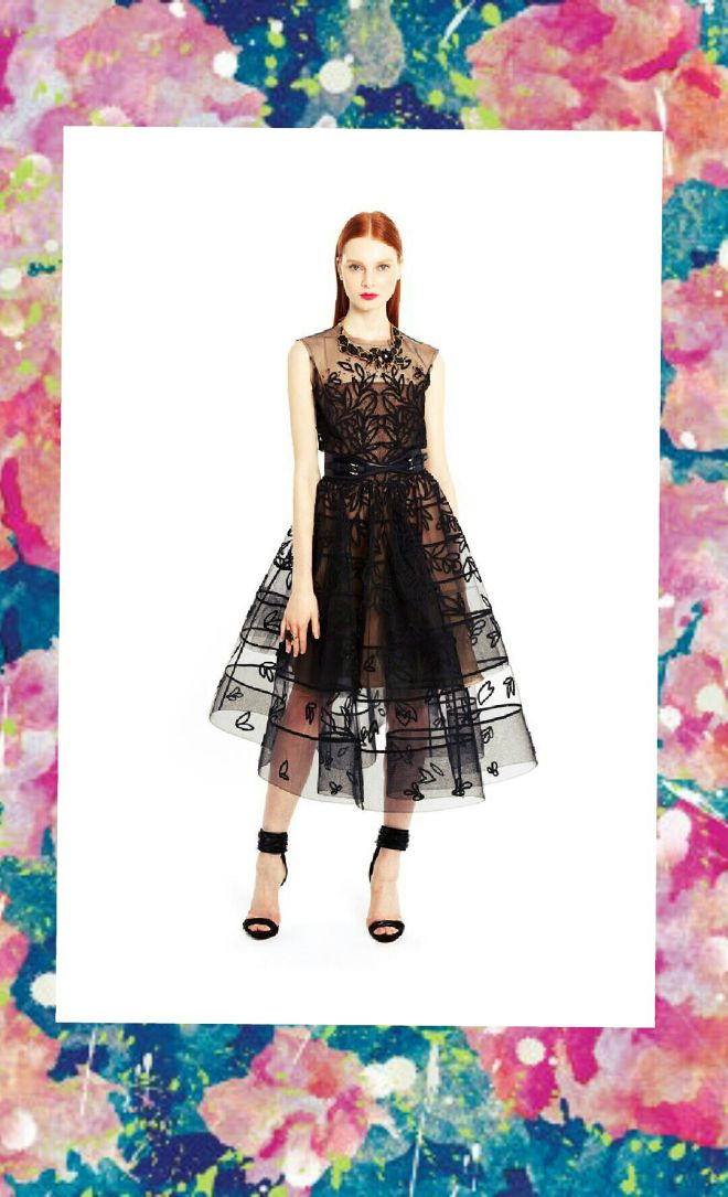 CREME de la MODE ;* Oscar de la Renta Resort 2015 Collection #fashion