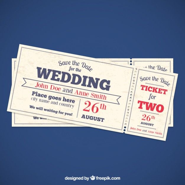Billetes de invitacin de boda vector gratis invitaciones sports ticket invitation template free all star sports ticket invitations template ticket invitation football ticket invitation template football ticket stopboris Image collections