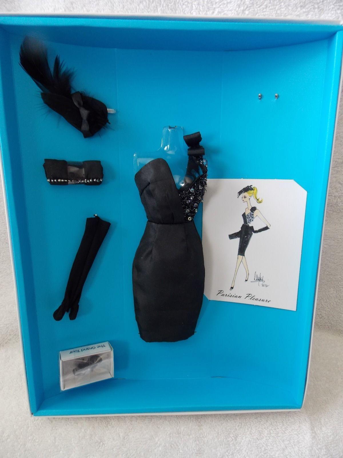 2012 Barbie Convention * Dressmaker Details * Paris Parisienne Pleasure Fashion | eBay