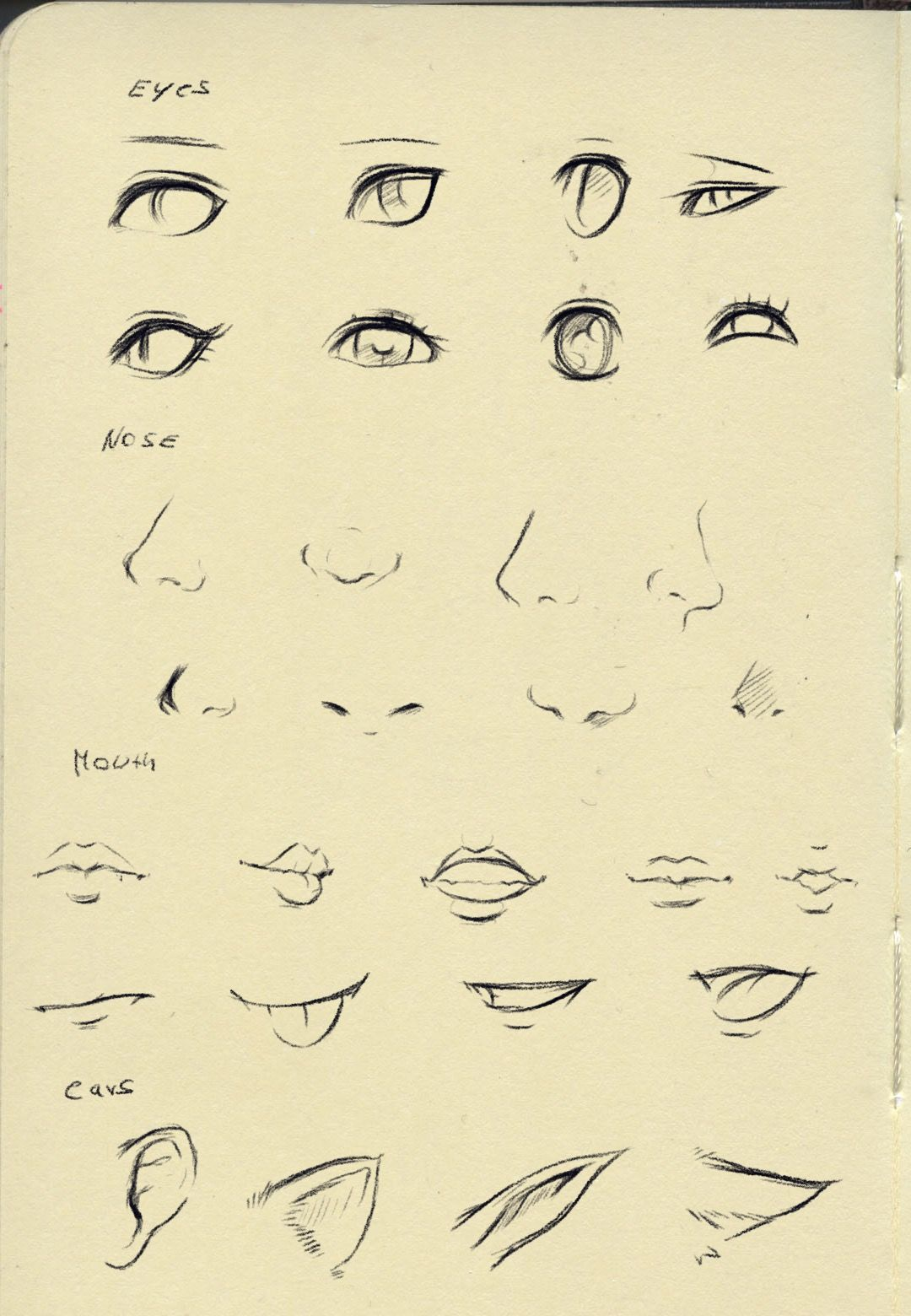 Eyes Nose Mouth Tutorial Nose Drawing Realistic Drawings Drawing Tips