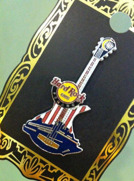 Flag Hard Rock Cafe pin – RM45