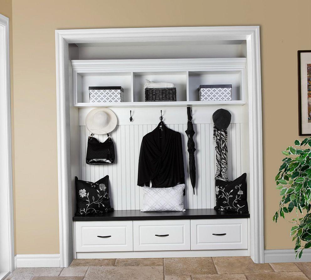 Turn Foyer Into Mudroom : Turn entry closet into mudroom home design ideas