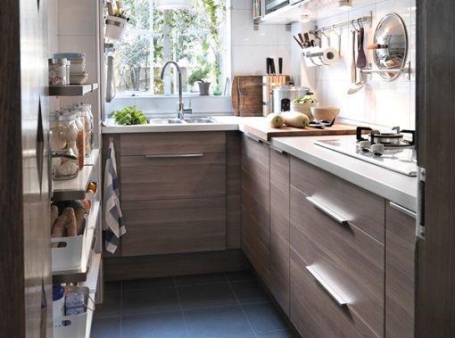 Cocinas Modernas Ikea | Cocina Ikea Baldas Estrechas Dream Home Pinterest Cocinas