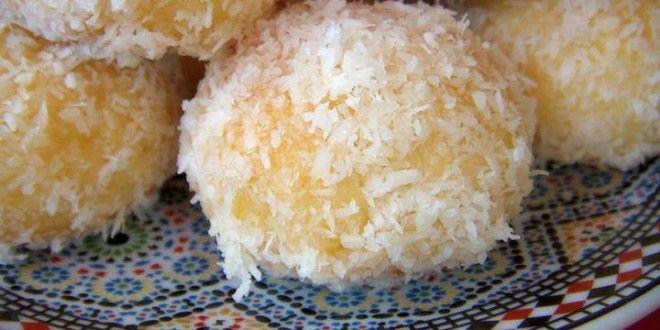 Boules à la noix de coco , Choumicha شهوات مع شميشة · Recette  MarocainePatisserie