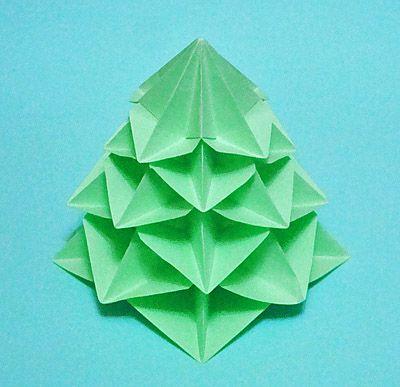 origami k novomu godu