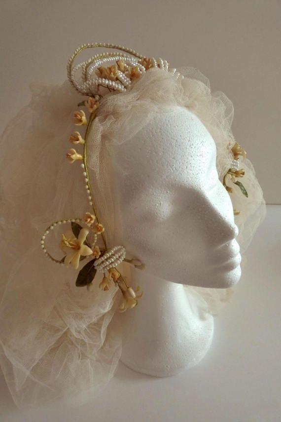 Bridal Headdress Por Giardinodininfa