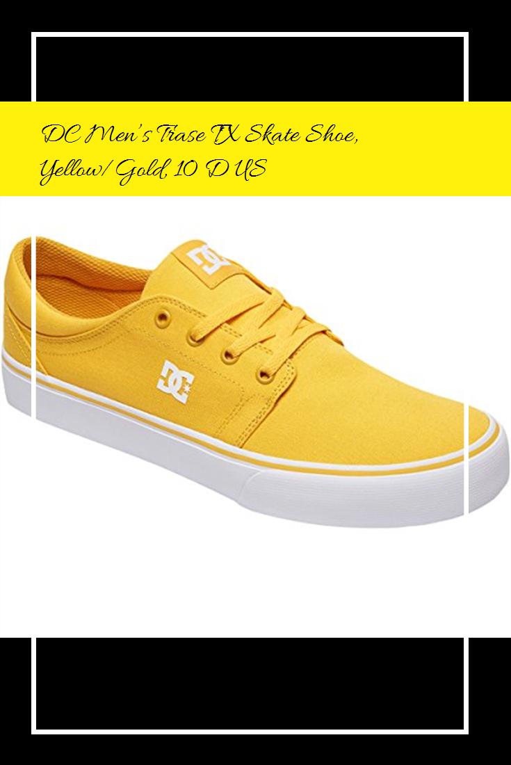 Trase TX Skate Shoe, Yellow/Gold