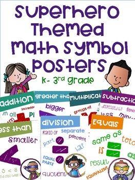 Pin By The 5th Grade Renegade On Math Superhero Kids Math Math Workshop