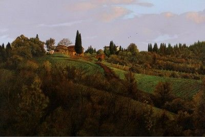 October Sky - Giclee Print by Chris Young