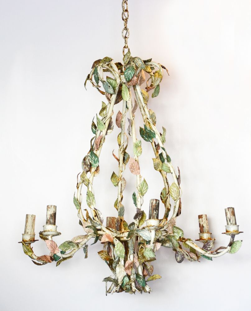 1800s massive incredible pastel french tole chandelier 1800s massive incredible pastel french tole chandelier mozeypictures Image collections