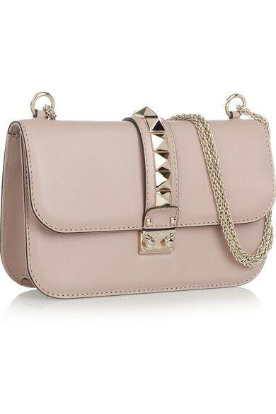 1285£ bag available on net-a-porter.com. Leather Shoulder BagsHand BagsShoe  BagCalvesValentinoJewelry ...