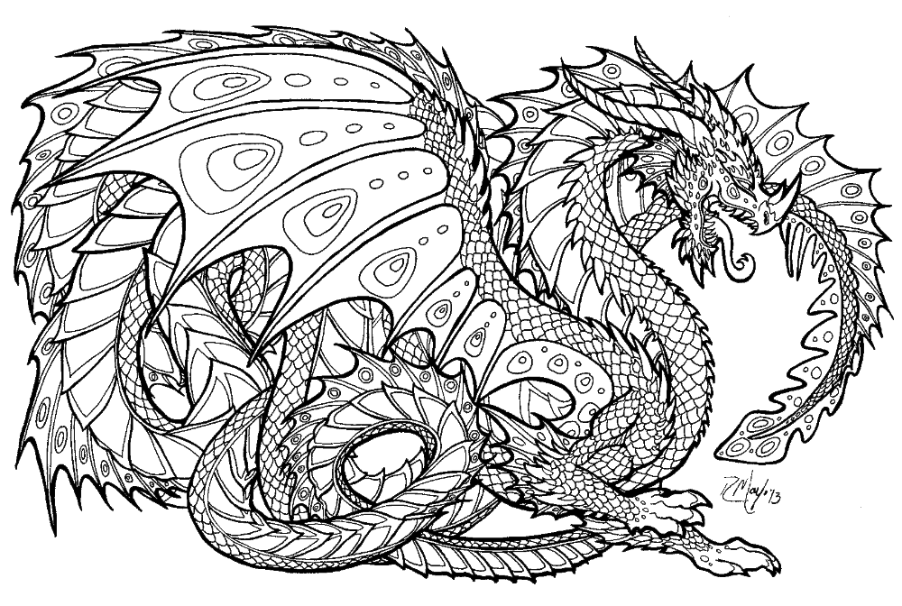 Litablod Detailed Coloring Pages Dragon Coloring Page Animal Coloring Books