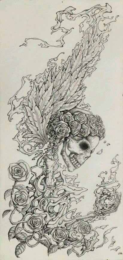 Pin de Dalma Cabral en skull y roses | Pinterest | Calaveras y Hola