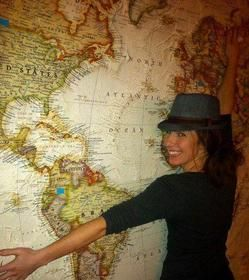 Travelling teacher Kate McKenzie