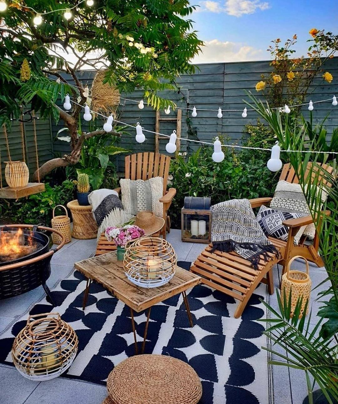 "Design Your Spaces on Instagram: ""Backyard safe haven! Cool"