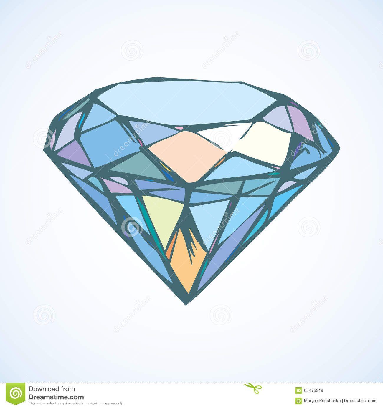 Картинки по запросу нарисованный алмаз | Нарисованный ...
