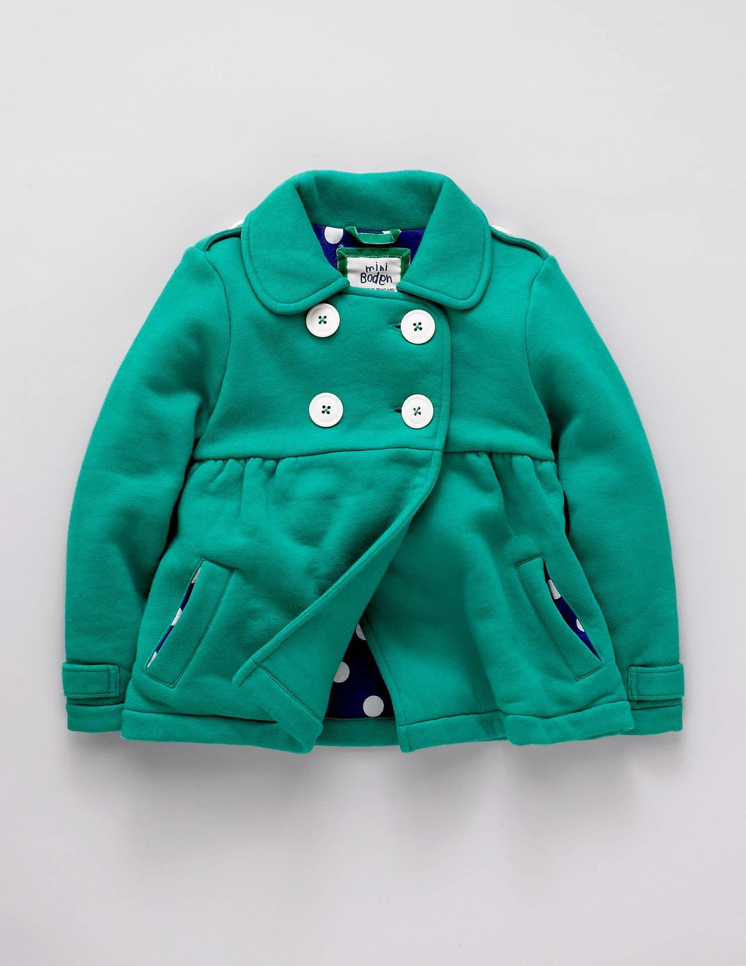 Green coat - Mini Boden