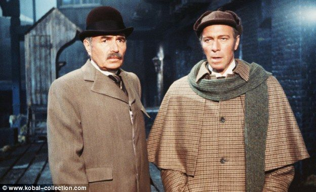 Christopher Plummer As Holmes And James Mason Watson In Murder By Decree