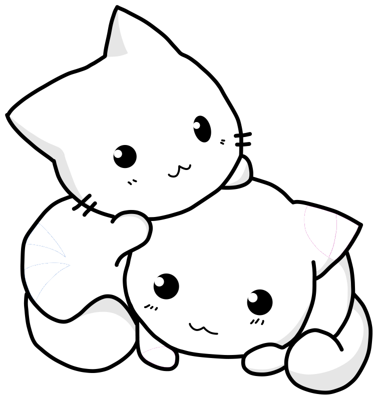 cachorrinhos e gatinhos colouring pages page 2 - Coloring Pages Kittens 2