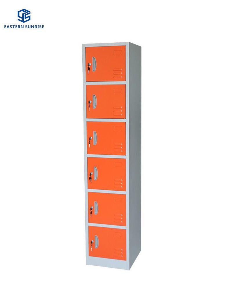 Hot Item 6 Door Metal Locker And Wardrobe For Supermarket In 2020 Metal Lockers Lockers Locker Storage