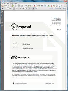 The Software And Hardware System Sample Proposal Is One Of Many Sample  Business Proposals Included With Proposal Pack Proposal Templates And  Proposal ...  Purchase Proposal Template