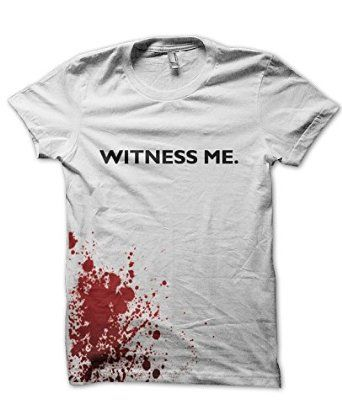 Witness Me T-shirt #WarBoys #WitnessMe #MadMax