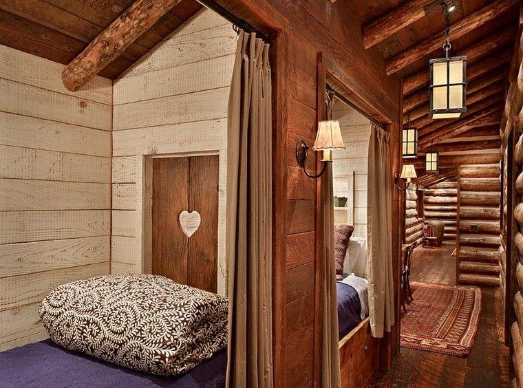 Decoracion r stica para los dormitorios juveniles con - Dormitorios infantiles con encanto ...