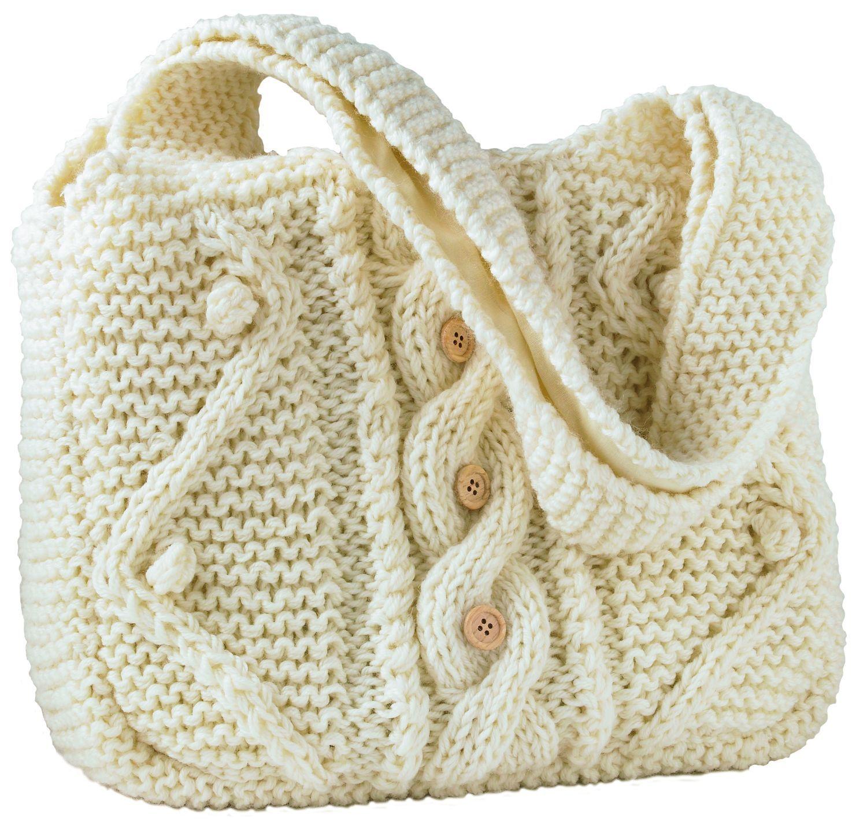 Sac main en tricot maison jardiland sacs tricot s pinterest tricot sac et mains - Patron de sac a main ...