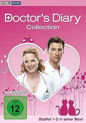 2e6e739cd937df Doctor s Diary - Staffel 1+2+3 Collection (Komplettbox)   6-DVD-BOX-NEU