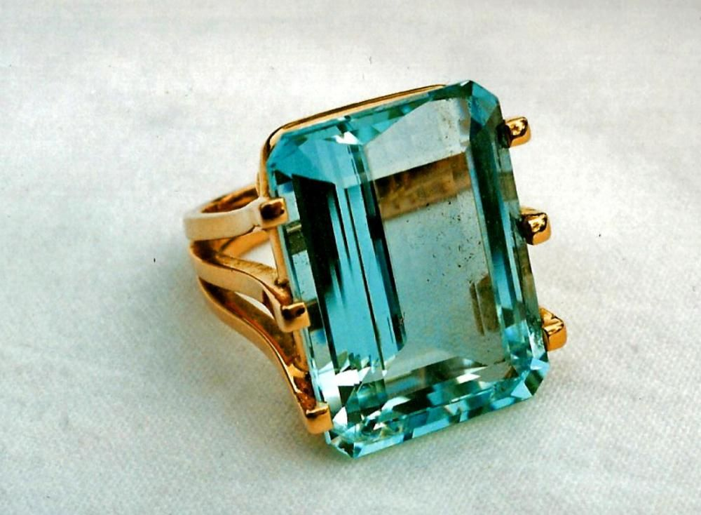 Rare Natural Turquoise Gemstone Ring Jewelry TR-2