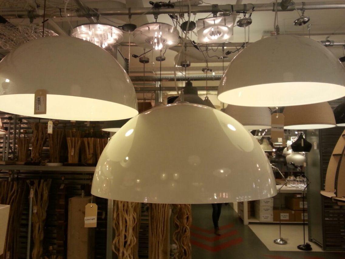 Woonfabriek Villa Arena Grote eettafellamp | Verlichting ...