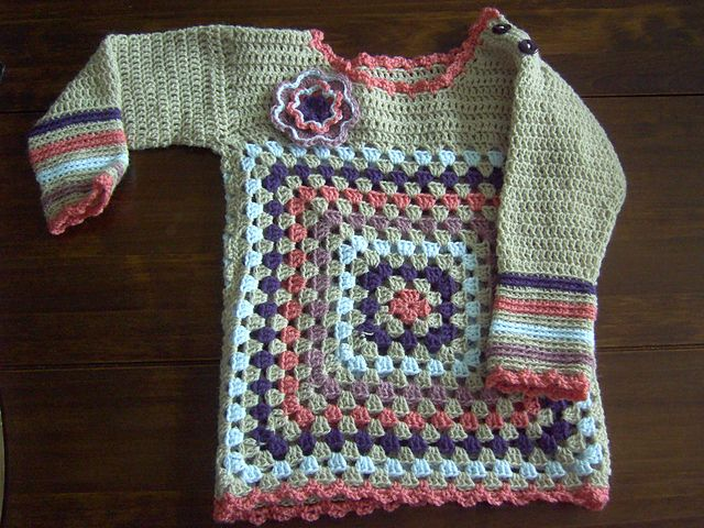 Ravelry Bella Baby Pullover Pattern By Lthingies Crochet Patterns