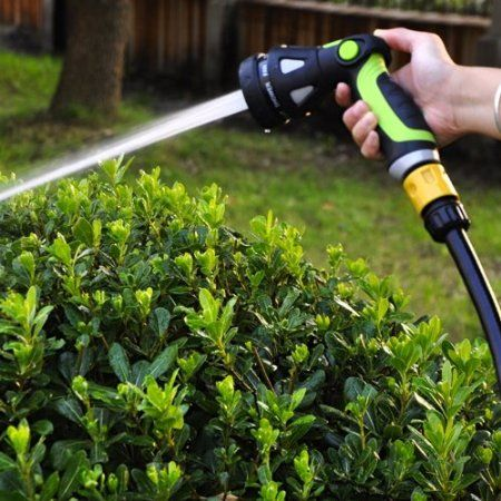 Amazon Com Garden Hose Nozzle By House Hort 8 Spray Options
