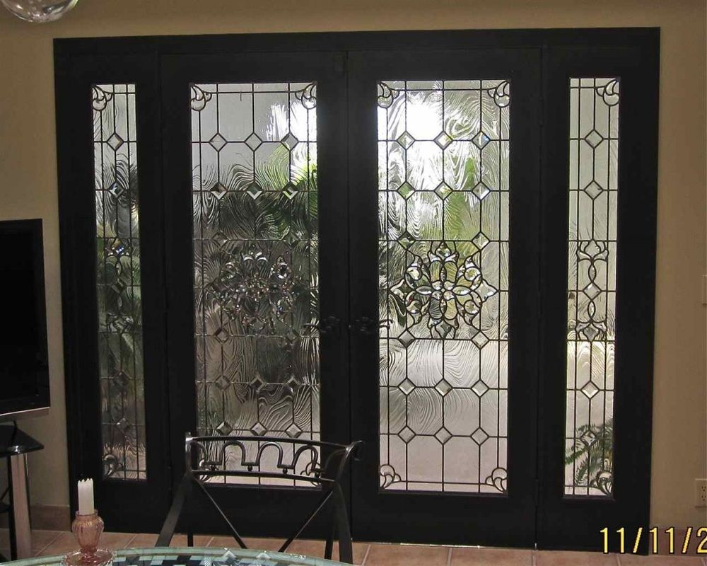 Doors and Windows -- Glass Entry Doors, beautiful...don't need the ...