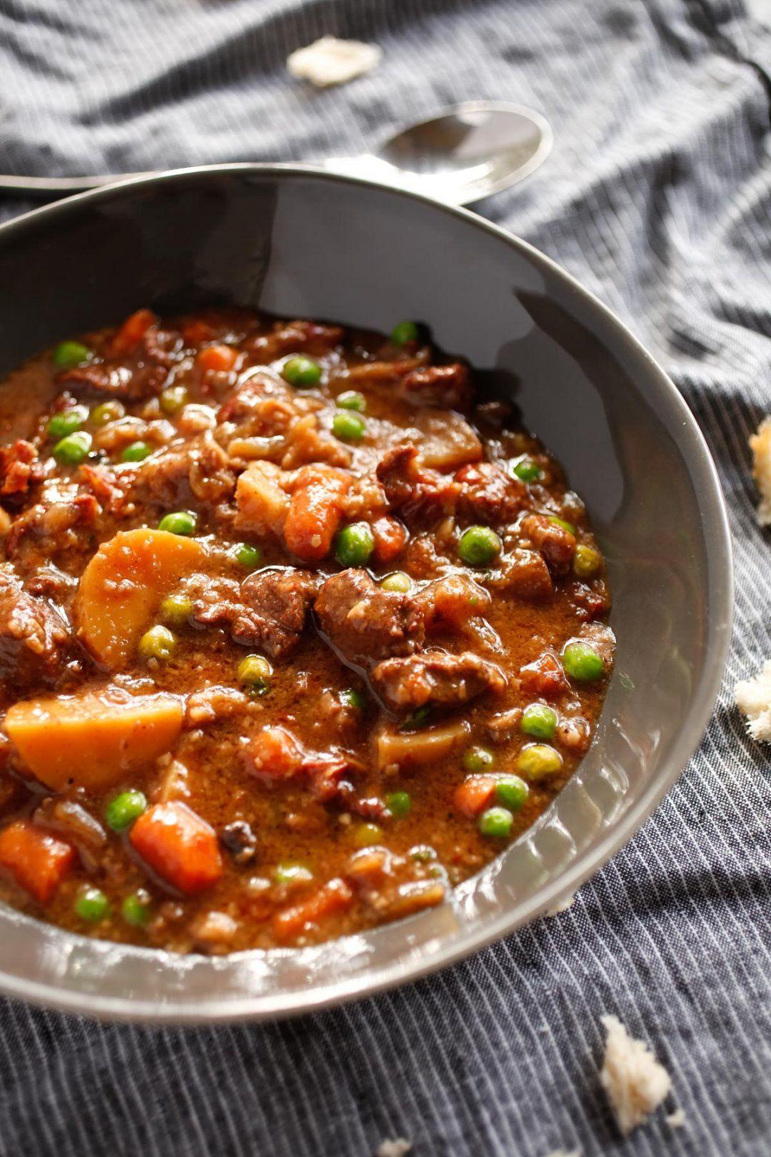 Ina Garten S Unforgettable Beef Stew Veggies By Candlelight Recipe Stew Recipes Beef Recipes Ina Garten Recipes