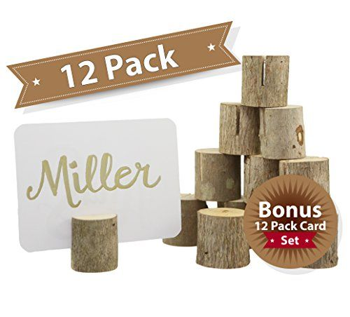 Happy Magnolia 12 Pack Wooden Place Card Holders With Bon... https://www.amazon.com/dp/B01M8GQLSV/ref=cm_sw_r_pi_dp_x_P1oIybWA3MRKJ