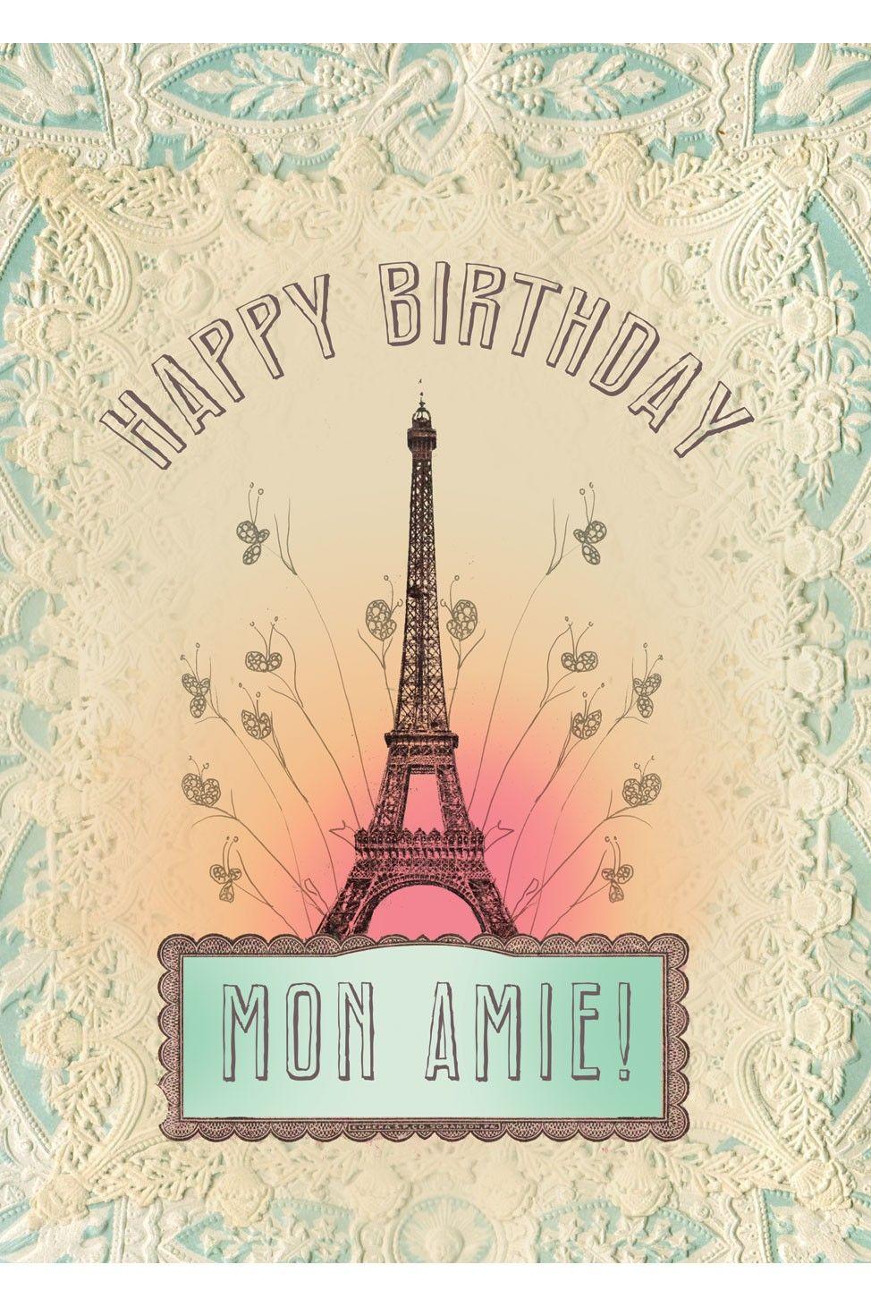 Happy birthday mon amie cards pinterest happy birthday happy birthday mon amie kristyandbryce Gallery