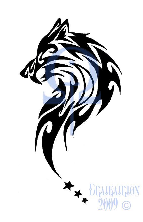Tribal Wolf Tattoo Tribal Sabertooth Wolf Tattoo By Draikairion On Deviantart Tribal Wolf Tattoo Tribal Wolf Wolf Tattoos