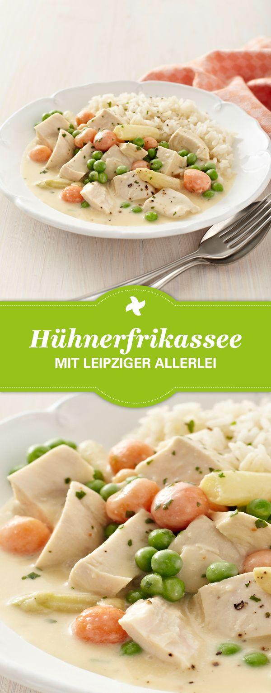 Ein tolles Gericht für Kinder! Thermomix ® Rezept für Hühnerfrikassee mit Le...