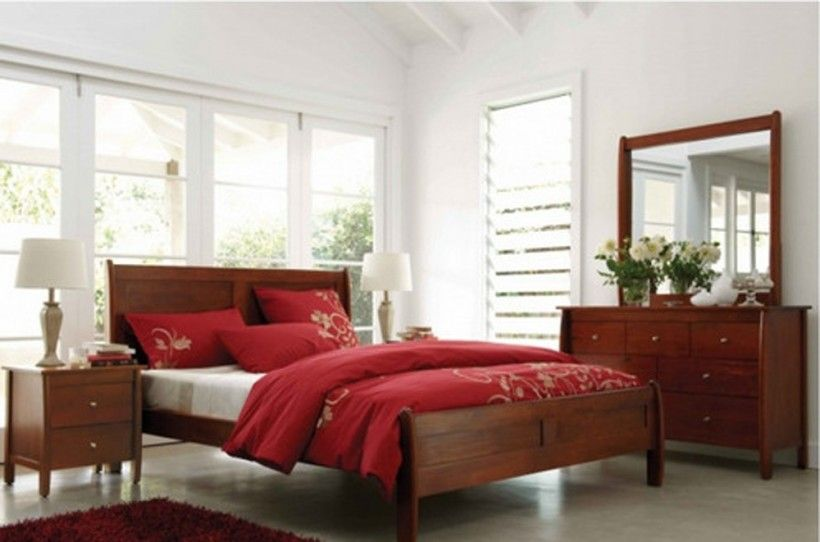Bedroom Stunning Traditional Style Spring 4 Piece Queen Bedroom