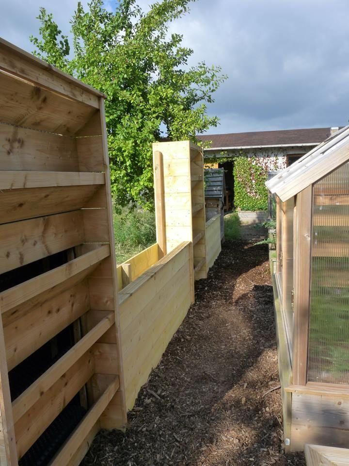 Cloture potager vertical | Jardin - Garden | Pinterest | Gardens