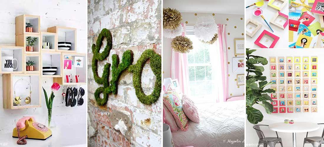 12 formas modernas f ciles y econ micas de decorar las for Formas para decorar una casa