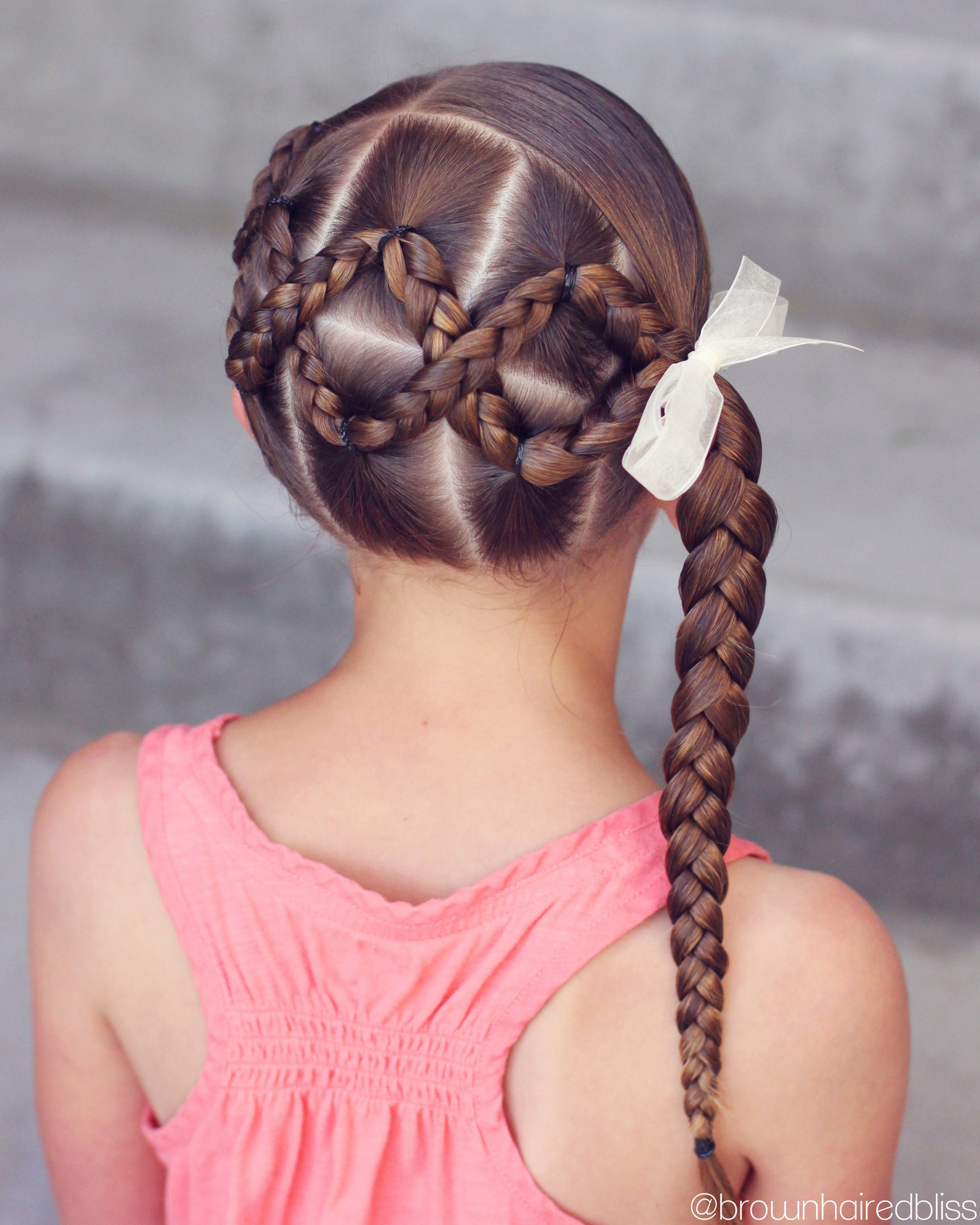 Peinado Con Gomitas Kids Braided Hairstyles Braided Hairstyles Long Hair Styles
