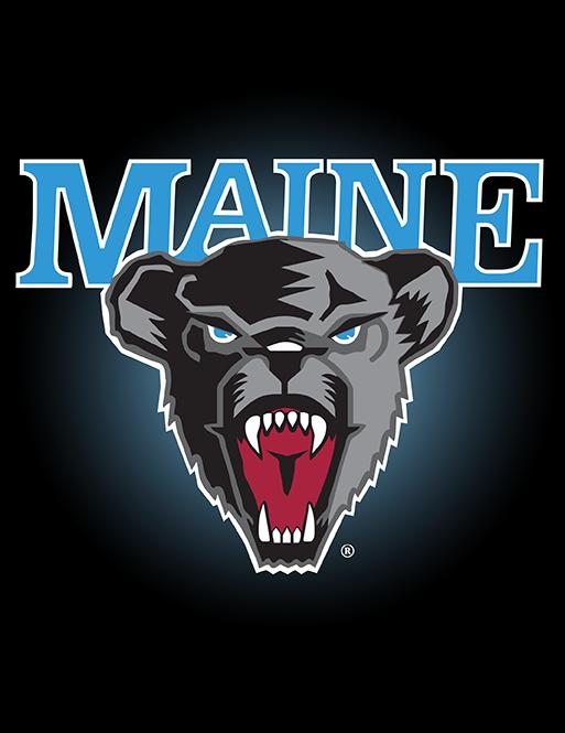 Maine Black Bears Bear Logo Black Bear College Logo