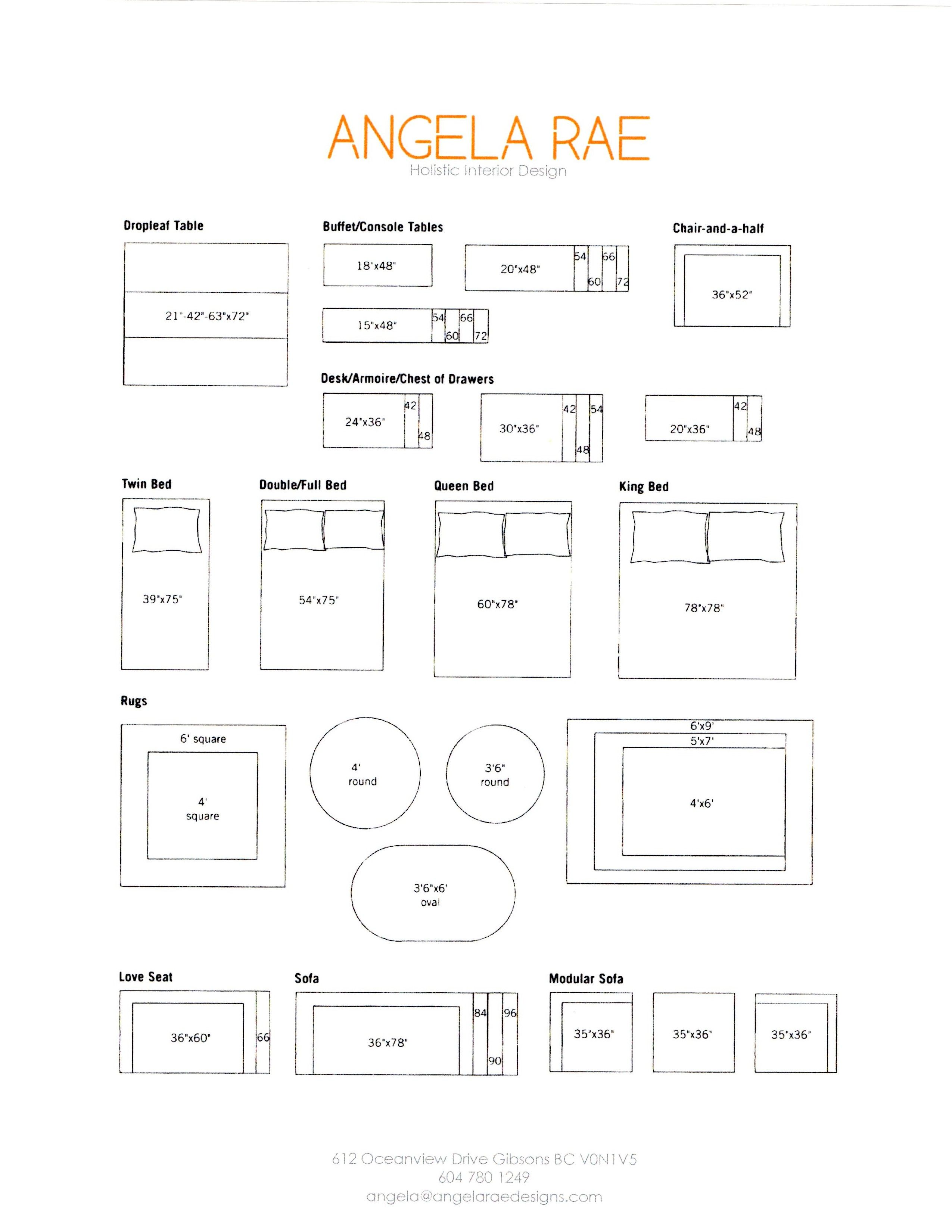 More Printable Furniture At 1 4 Scale Have Fun Here S A Tip Don T Know What Length Sofa Is Goin Interior Design Guide Carport Designs Floor Plan Symbols